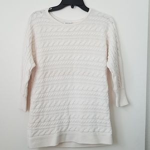 Banana Republic cable Knit sweater.